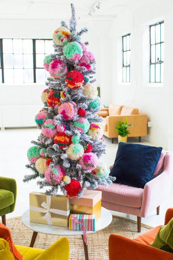 Ideas árboles de Navidad 7