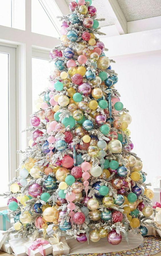 Ideas árboles de Navidad 8