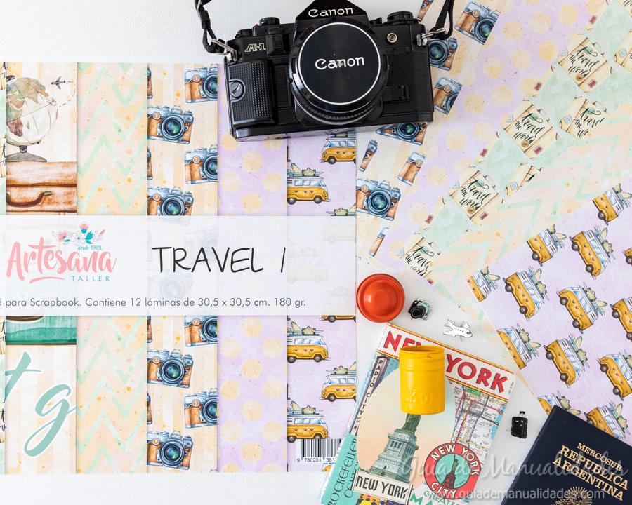 Mini álbum para viajes 2