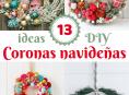 imagen 13 ideas DIY de coronas navideñas
