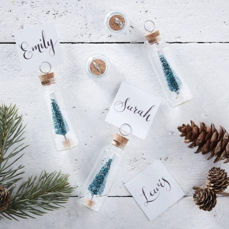 Ideas para hacer con mini arbolitos de Navidad 16