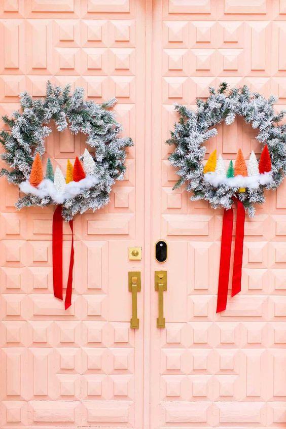 Ideas para hacer con mini arbolitos de Navidad 7