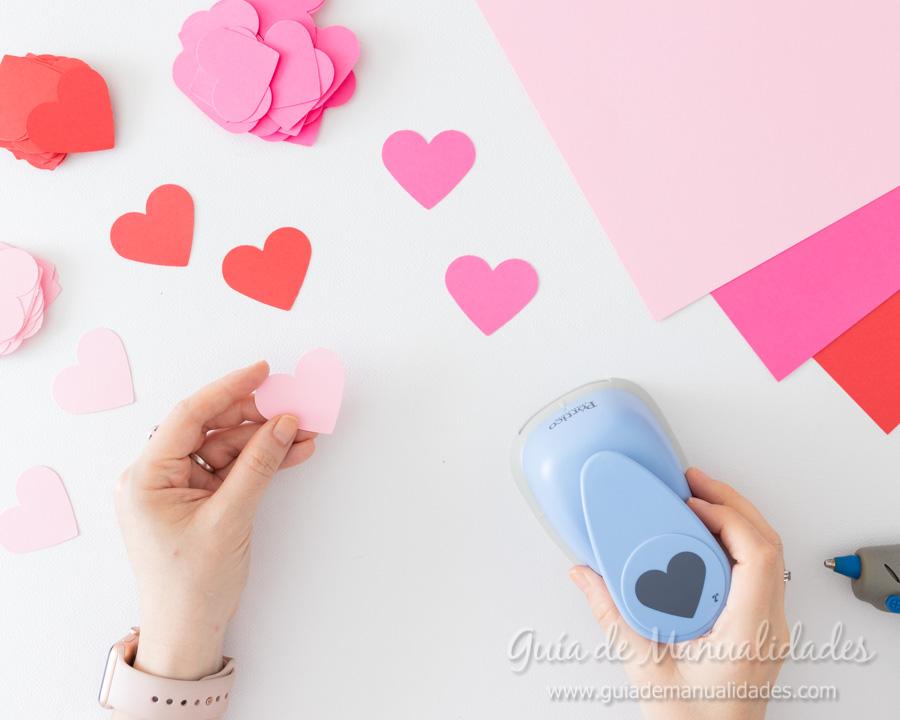 Arbolitos románticos con corazones 3