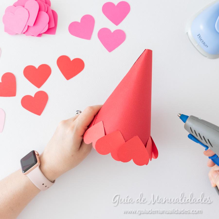 Arbolitos románticos con corazones 5