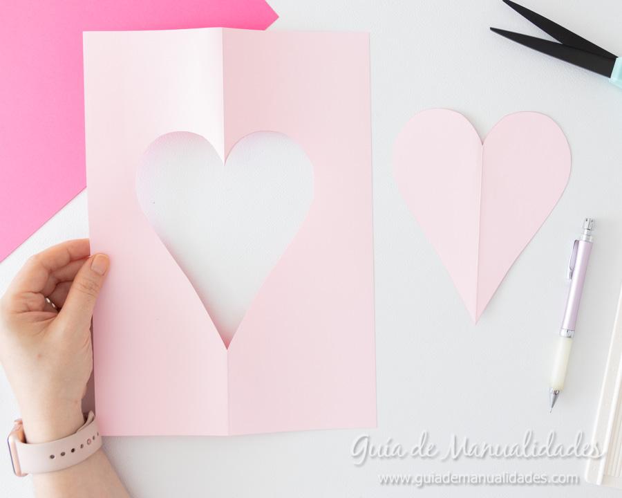 Corazones de papel decorativos 3