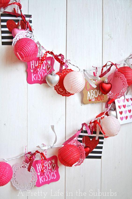 Ideas de guirnaldas para el día de los Enamorados 1