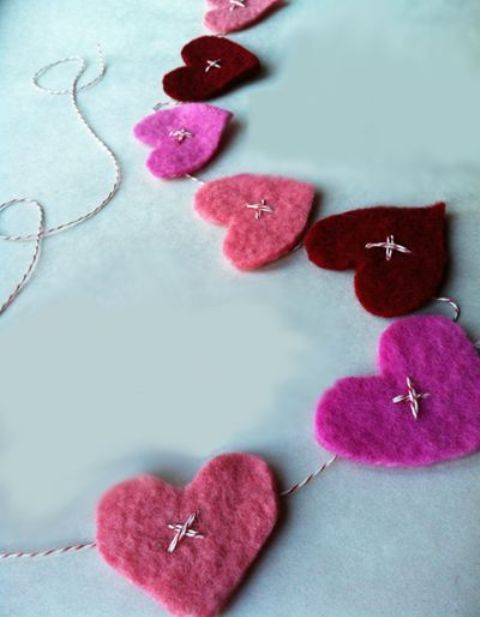 Ideas de guirnaldas para el día de los Enamorados 12