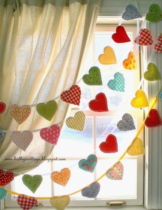 Ideas de guirnaldas para el día de los Enamorados 4