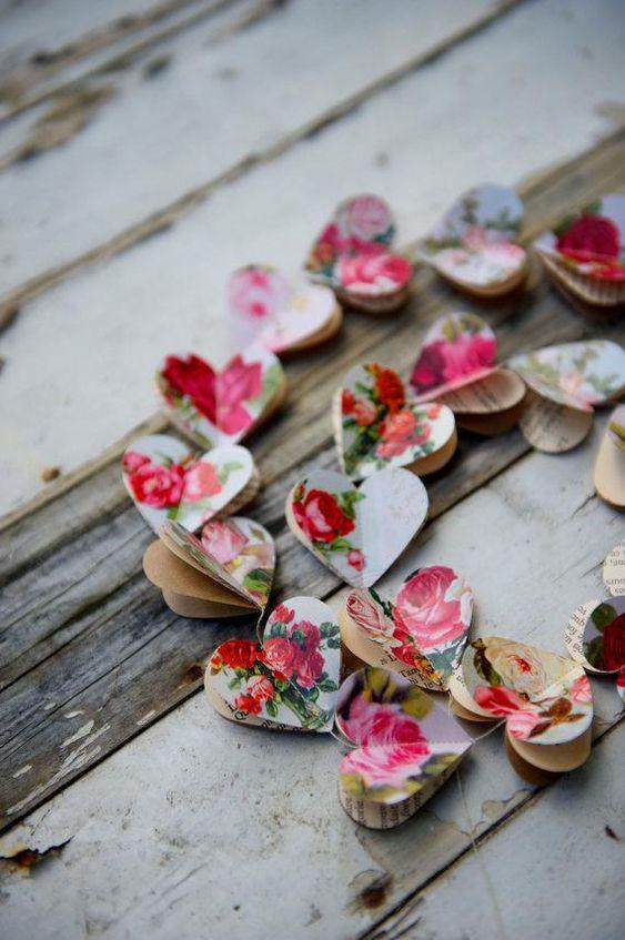 Ideas de guirnaldas para el día de los Enamorados 7