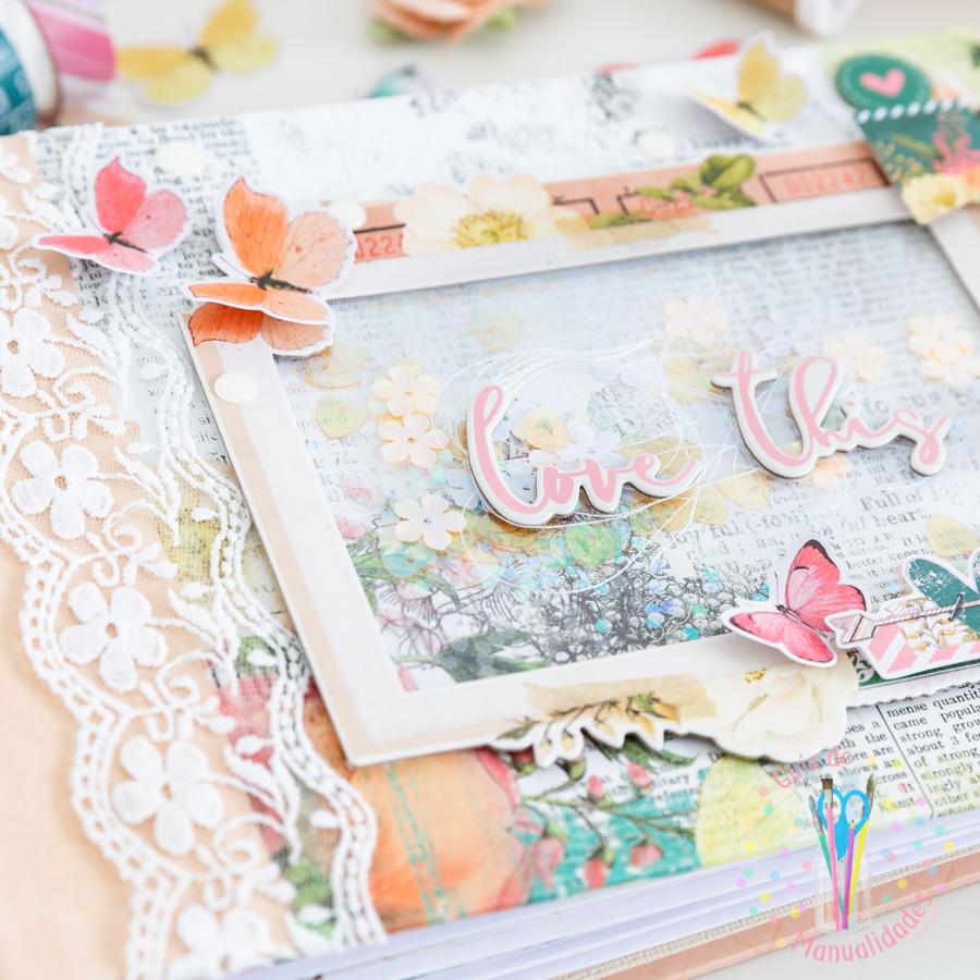 Mini album Love This SV Garden District Simple Stories 19