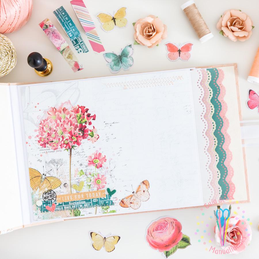 Mini album Love This SV Garden District Simple Stories 9
