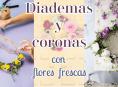 imagen Crea coronas y diademas de flores con tus ramos favoritos