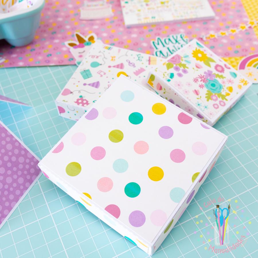 Explosion Box para cumpleaños 4