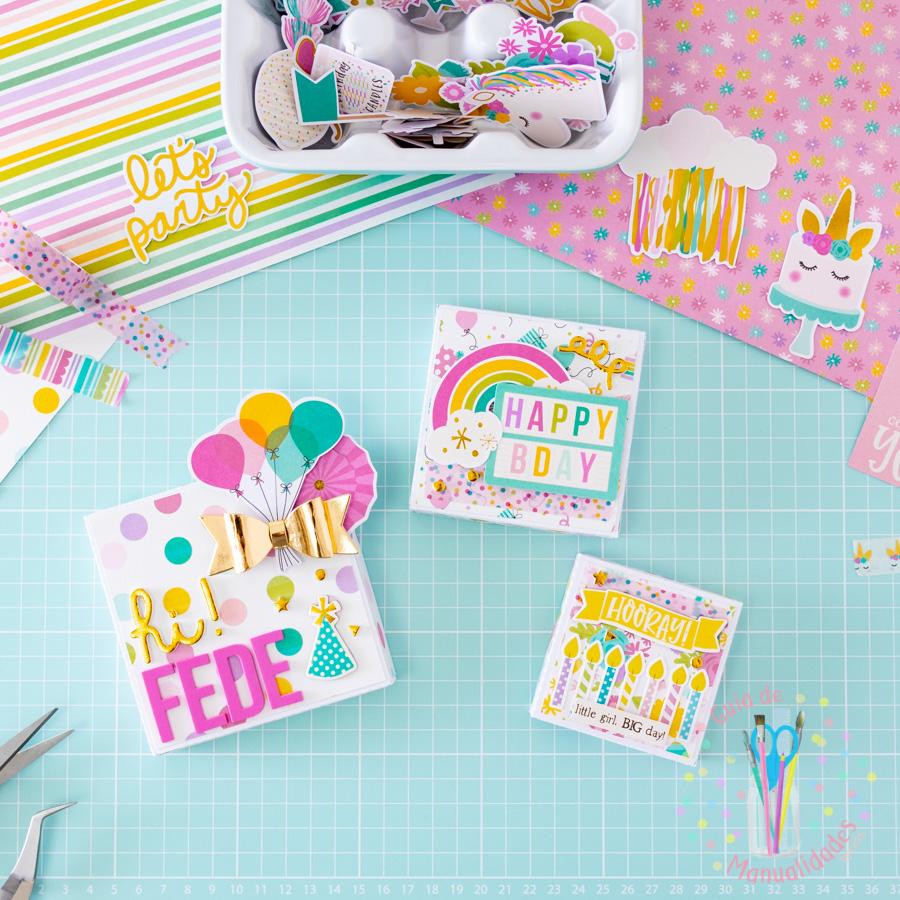 Explosion Box para cumpleaños 5