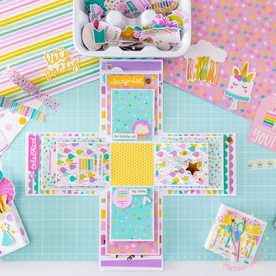 Explosion Box para cumpleaños 6