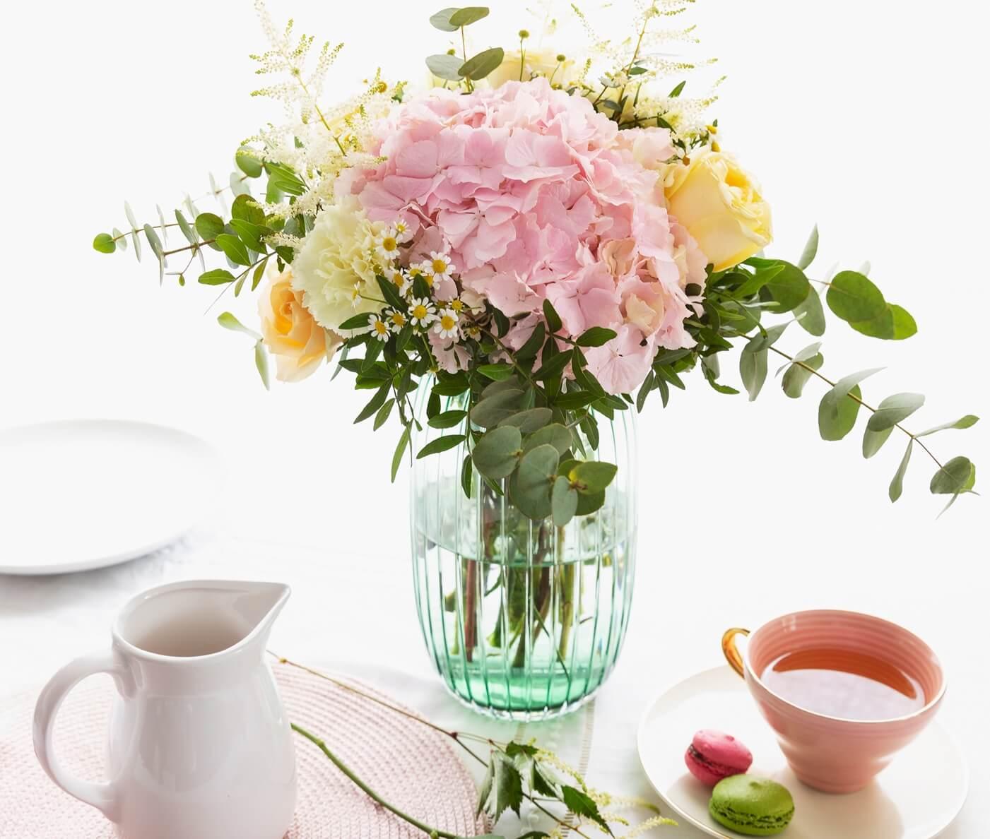 crea corona y diademas DIY con flores frescas 5