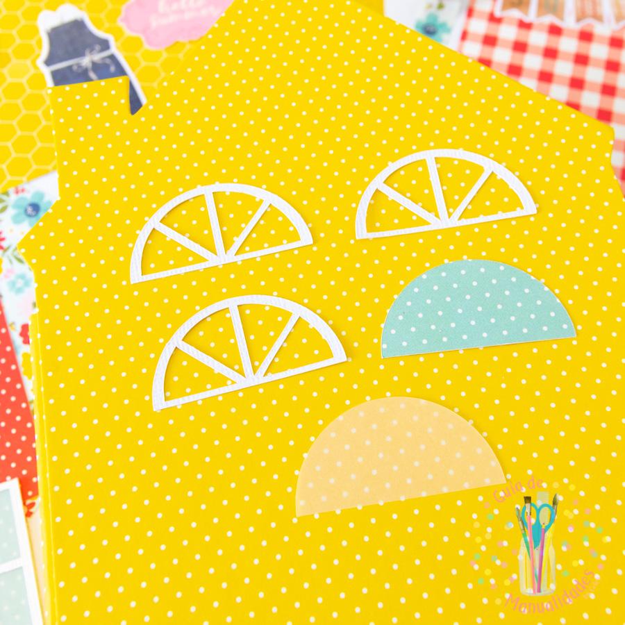 Mini Álbum casa de verano 5