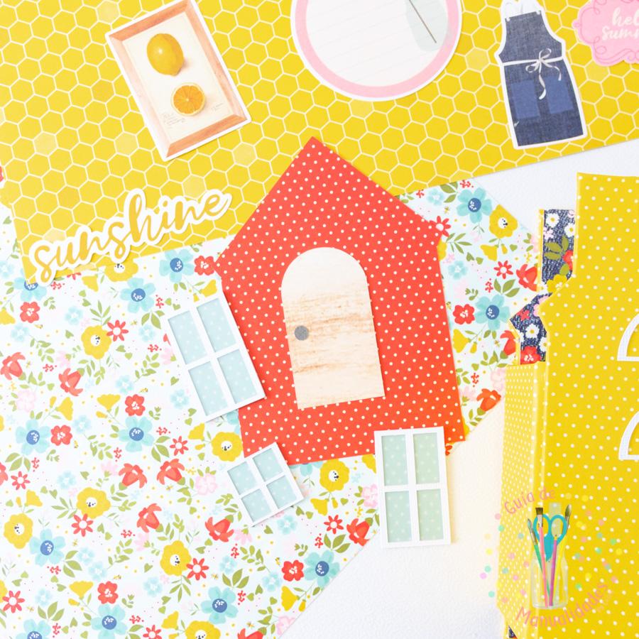 Mini Álbum casa de verano 6
