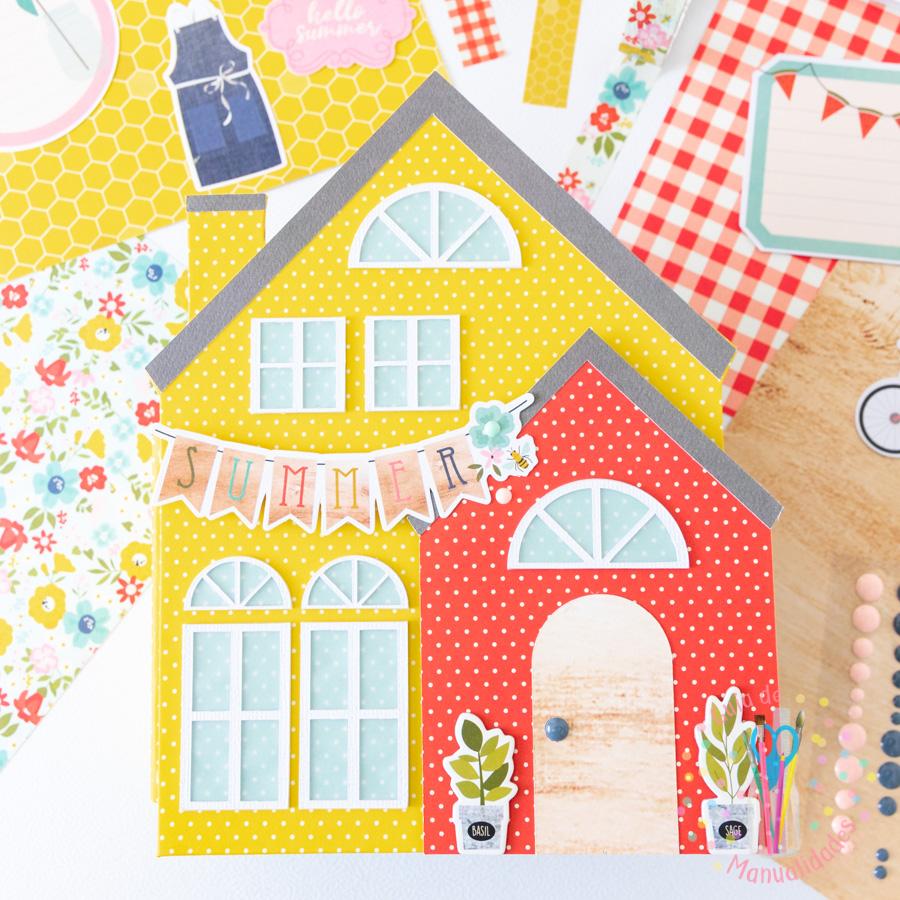 Mini Álbum casa de verano 7