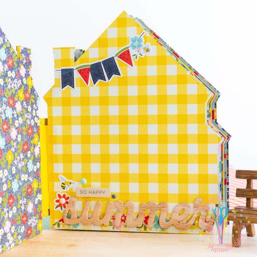 Mini Álbum casa de verano 8