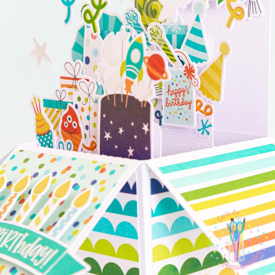 Tarjeta de cumpleaños pop up box 10