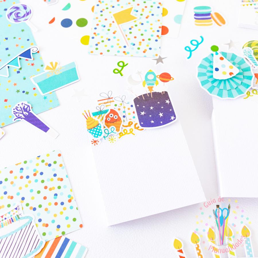 Tarjeta de cumpleaños pop up box 4