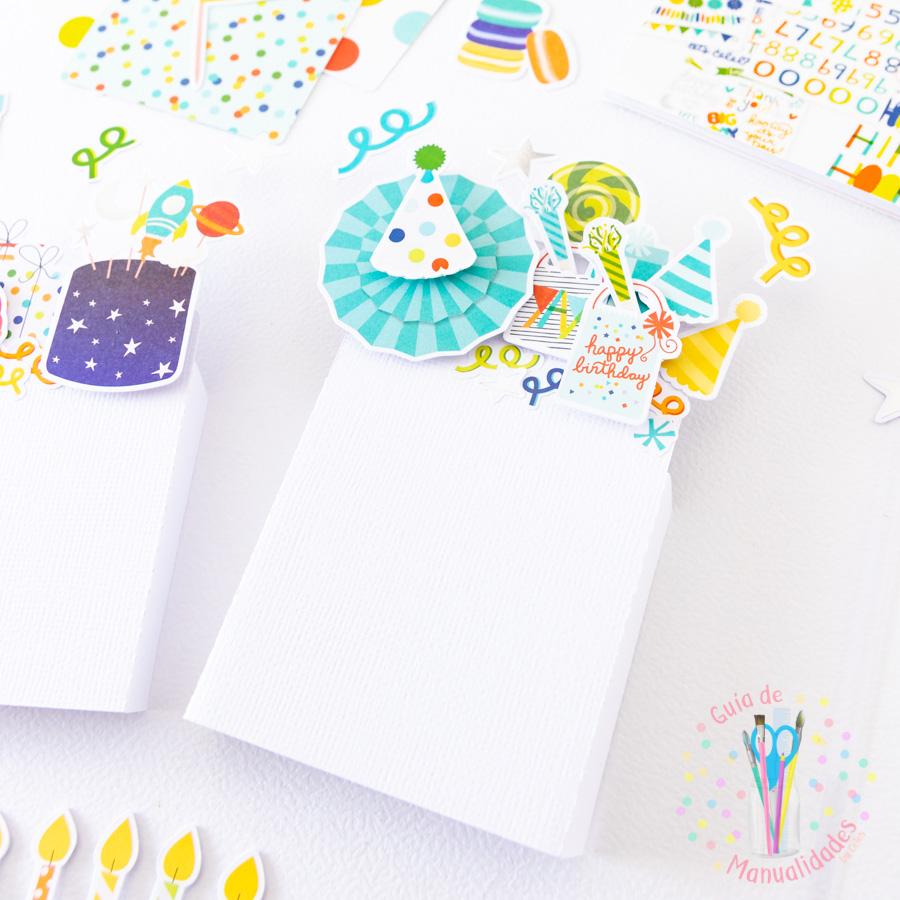 Tarjeta de cumpleaños pop up box 5