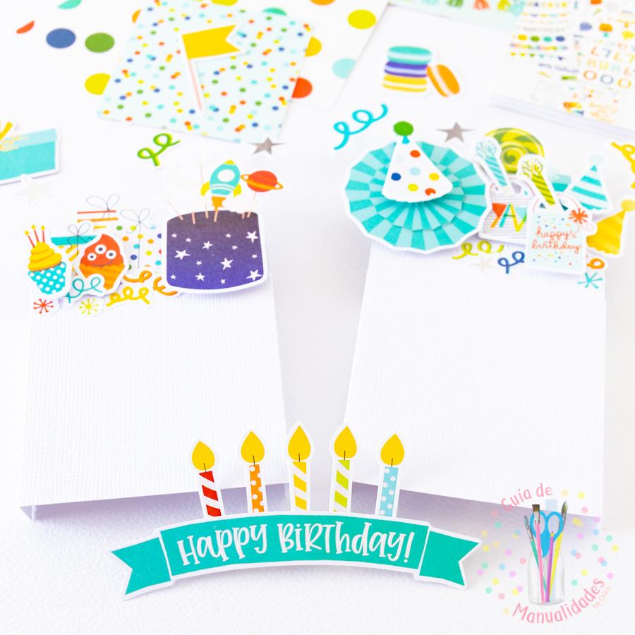 Tarjeta de cumpleaños pop up box 6