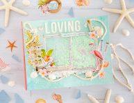 imagen Un mini álbum de playa muy especial «Loving the beach life»