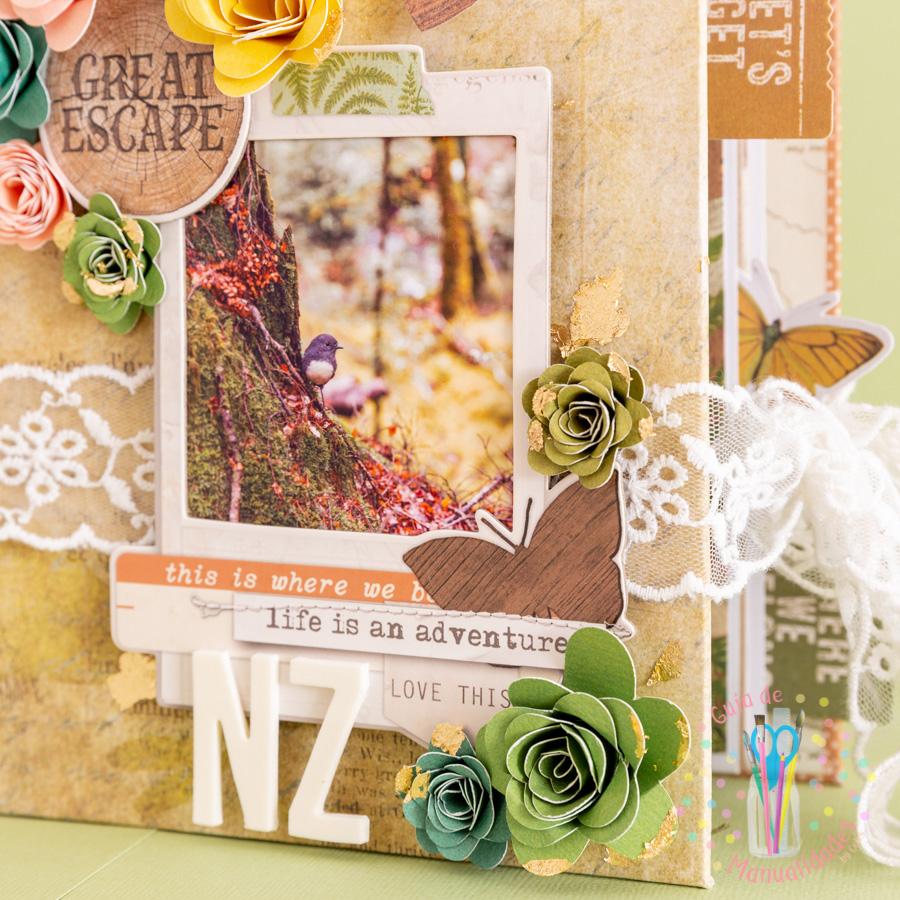 Mini book de viaje combinado con journaling 19
