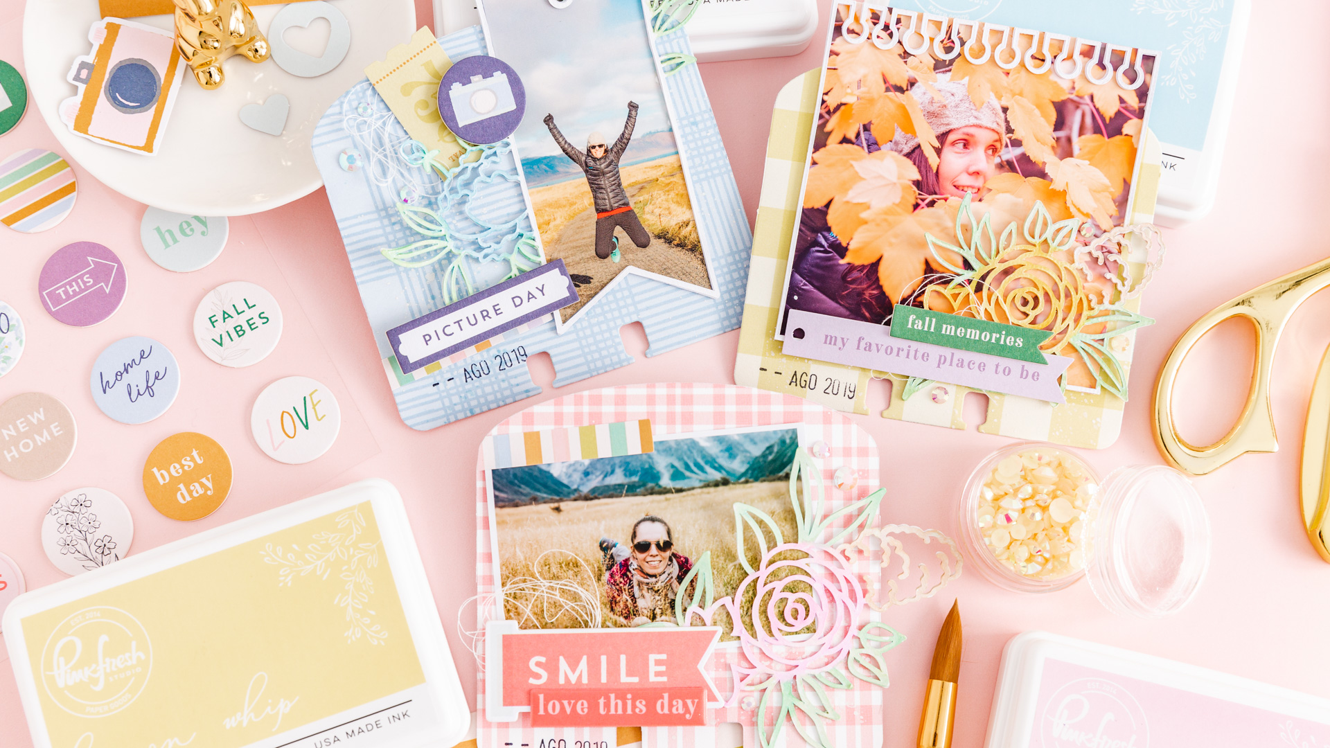 PinkFresh Studio The Best Day Collection Release Blog Hop 2